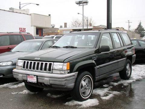 used 1995 jeep grand cherokee laredo 4x4 for sale stock p5781b dealer car. Black Bedroom Furniture Sets. Home Design Ideas