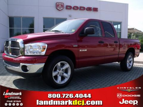 used 2008 dodge ram 1500 big horn edition quad cab for. Black Bedroom Furniture Sets. Home Design Ideas