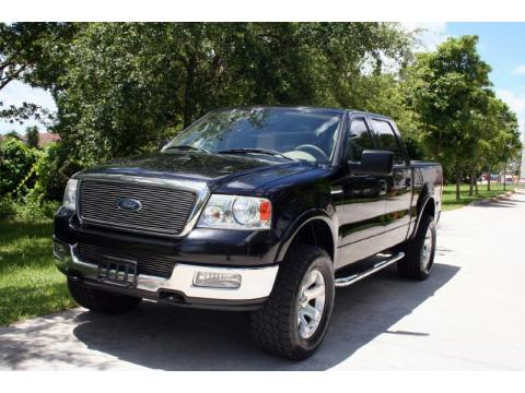 used 2004 ford f150 lariat supercrew 4x4 for sale stock a11009 dealer car. Black Bedroom Furniture Sets. Home Design Ideas