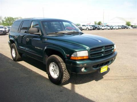used 1998 dodge durango slt 4x4 for sale stock p4001b. Black Bedroom Furniture Sets. Home Design Ideas
