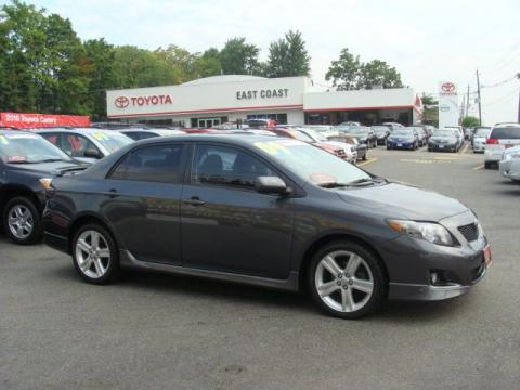 used 2009 toyota corolla xrs for sale stock 13507 dealer car ad 34447068. Black Bedroom Furniture Sets. Home Design Ideas