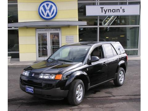Black Onyx 2004 Saturn VUE with Gray interior Black Onyx Saturn VUE .