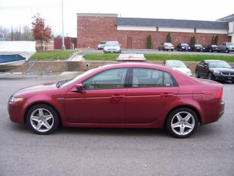 2005 acura tl red 200 interior and exterior images. Black Bedroom Furniture Sets. Home Design Ideas