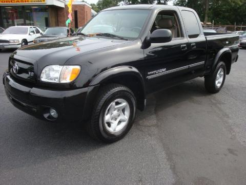 used 2003 toyota tundra sr5 trd access cab 4x4 for sale stock 353305. Black Bedroom Furniture Sets. Home Design Ideas