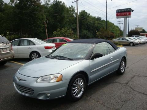 used 2002 chrysler sebring limited convertible for sale. Black Bedroom Furniture Sets. Home Design Ideas