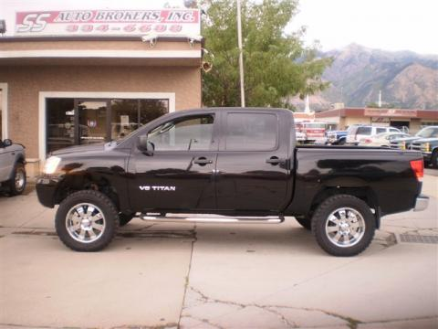 used 2006 nissan titan xe crew cab 4x4 for sale stock 517147 dealer car ad. Black Bedroom Furniture Sets. Home Design Ideas