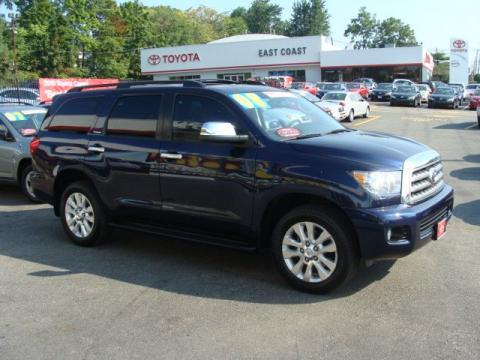 used 2008 toyota sequoia platinum 4wd for sale stock. Black Bedroom Furniture Sets. Home Design Ideas