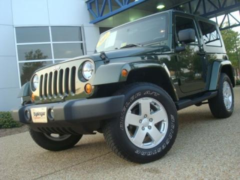 Used 2007 jeep wrangler sahara 4x4 for sale stock p5654 Tysinger motor company