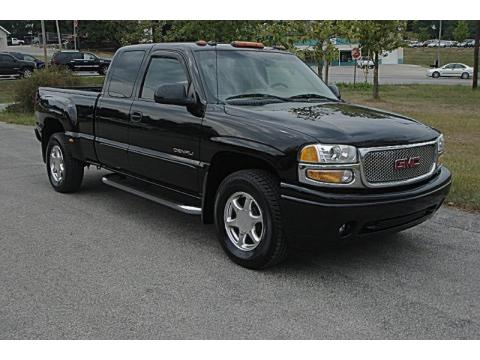 used 2003 gmc sierra 1500 denali extended cab awd for sale. Black Bedroom Furniture Sets. Home Design Ideas