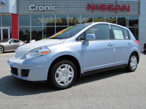new 2011 nissan versa 1 8 s hatchback for sale stock ni2094 dealer car ad. Black Bedroom Furniture Sets. Home Design Ideas