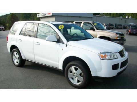 White Saturn Vue 2007. Polar White 2007 Saturn VUE V6 AWD with Gray interior Polar White Saturn VUE V6 AWD. Click to enlarge.
