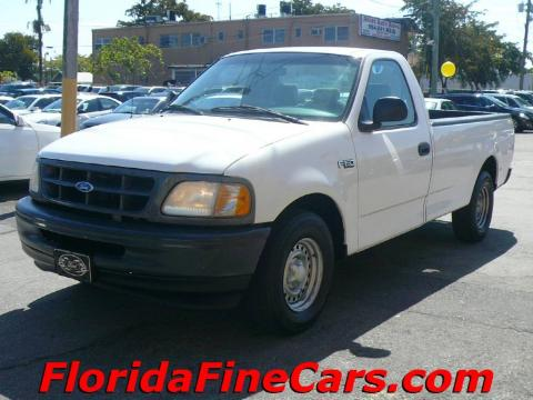 used 1997 ford f150 xl regular cab for sale stock ca8119 dealer car ad. Black Bedroom Furniture Sets. Home Design Ideas