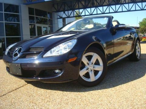 Used 2007 mercedes benz slk 280 roadster for sale stock Tysinger motor company