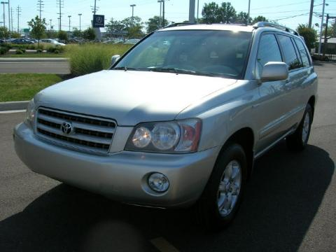 Airport Acura on Millenium Silver Metallic Toyota Highlander Limited 4wd  Click To