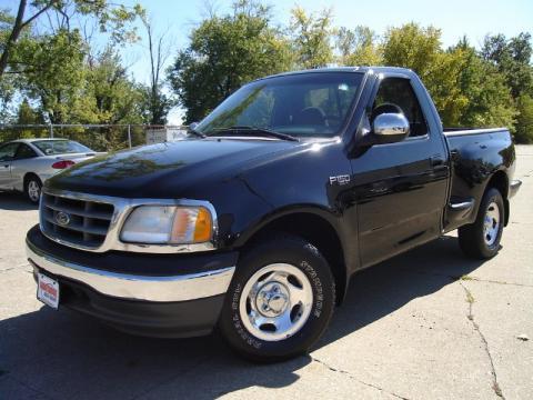 used 2000 ford f150 xlt regular cab for sale stock 218752 dealer car ad. Black Bedroom Furniture Sets. Home Design Ideas