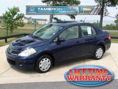 Used 2009 nissan versa 1 8 s sedan for sale stock for Tameron honda daphne al
