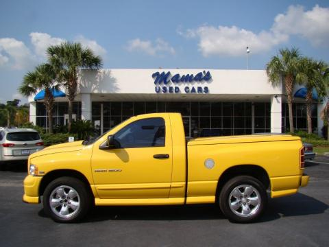 used 2004 dodge ram 1500 rumble bee regular cab 4x4 for. Black Bedroom Furniture Sets. Home Design Ideas