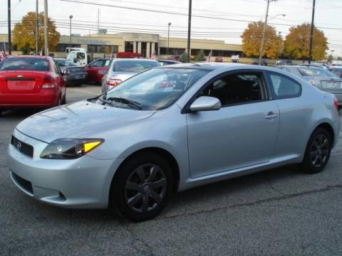 Classic Silver Metallic Scion TC . Click To Enlarge.