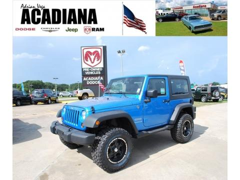 Jeep Dealer. Example Jeep Inventory At Acadiana Dodge. New Jeep Wrangler  Sport 4x4
