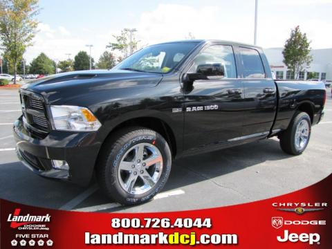 new 2011 dodge ram 1500 sport quad cab for sale stock. Black Bedroom Furniture Sets. Home Design Ideas