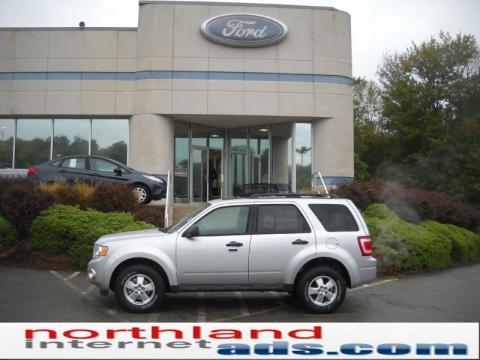 Ford Escape 2011 Silver. Ingot Silver Metallic 2011 Ford Escape XLT V6 4WD with Charcoal Black interior Ingot Silver Metallic Ford Escape XLT V6 4WD. Click to enlarge.