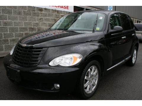 Brilliant Black Crystal Pearl Chrysler PT Cruiser Touring.  Click to enlarge.