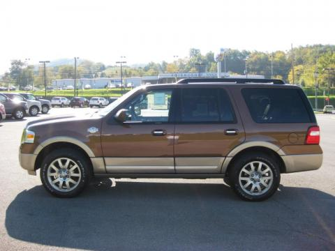 Golden Bronze Metallic Ford Expedition King Ranch 4x4.  Click to enlarge.
