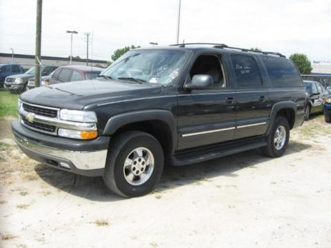 Dark Gray Metallic Chevrolet Suburban 1500 LT.  Click to enlarge.