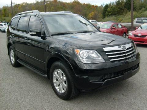 used 2009 kia borrego lx v6 4x4 for sale stock a32919. Black Bedroom Furniture Sets. Home Design Ideas