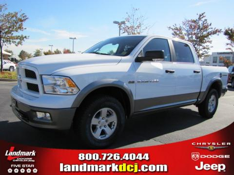 2011 Dodge Ram Outdoorsman. Bright White 2011 Dodge Ram