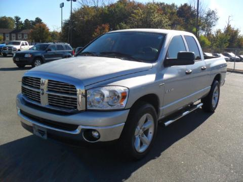 used 2008 dodge ram 1500 big horn edition quad cab for sale stock a5592a. Black Bedroom Furniture Sets. Home Design Ideas