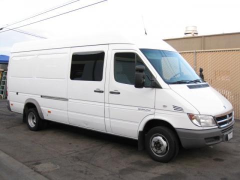 used 2006 dodge sprinter van 3500 high roof cargo for sale stock 963324. Black Bedroom Furniture Sets. Home Design Ideas
