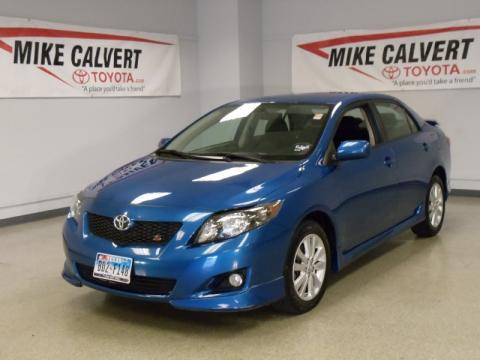 Mike Calvert Toyota   Houston, Texas. Blue Streak Metallic Toyota Corolla  S. Click To Enlarge.