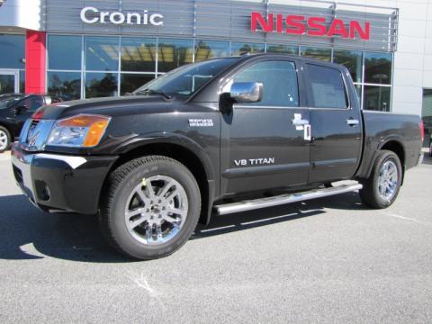 2011 Nissan Titan King Cab. Galaxy Black 2011 Nissan Titan
