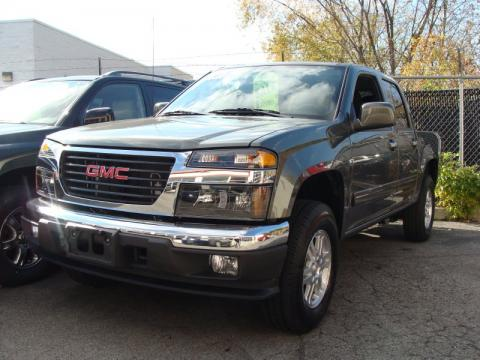 used 2010 gmc canyon sle crew cab 4x4 for sale stock 1737 dealer car ad. Black Bedroom Furniture Sets. Home Design Ideas