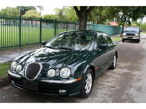 British Racing Green Jaguar S-Type 4.0.  Click to enlarge.