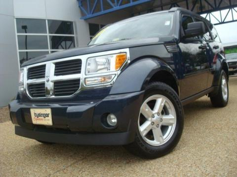 Used 2008 dodge nitro slt 4x4 for sale stock p5694 Tysinger motor company