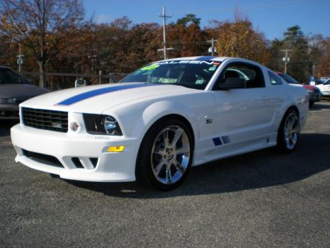 used 2008 ford mustang saleen s281 af american flag patriot supercharged coupe for sale stock. Black Bedroom Furniture Sets. Home Design Ideas