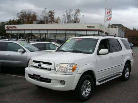 used 2006 toyota sequoia limited 4wd for sale stock 83135 dealer car ad. Black Bedroom Furniture Sets. Home Design Ideas