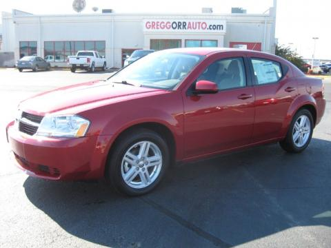 Red Dodge Avenger 2010. Inferno Red Crystal Pearl 2010 Dodge Avenger Express with Dark Khaki/Light Graystone interior Inferno Red Crystal Pearl Dodge Avenger Express.