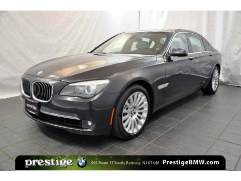 Dark Graphite Metallic BMW 7 Series 750Li xDrive Sedan.  Click to enlarge.