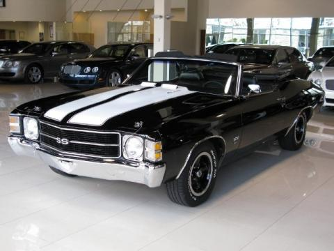 Used 1971 Chevrolet Chevelle Ss 454 Convertible For Sale