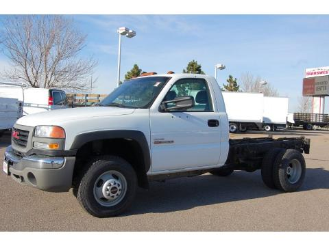 GMC Sierra 3500 Work Truck Regular Cab 4x4 Dually Chassis for Sale