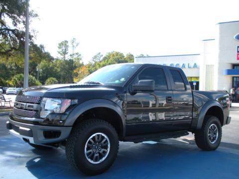ford raptor for sale used. Tuxedo Black 2010 Ford F150