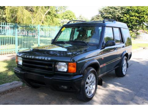 Epsom Green Land Rover Discovery II .  Click to enlarge.