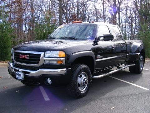 Used 2007 GMC Sierra 3500HD SLT Crew Cab 4x4 Dually for Sale - Stock #