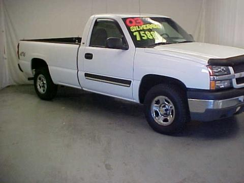 used 2003 chevrolet silverado 1500 ls regular cab 4x4 for sale stock. Cars Review. Best American Auto & Cars Review