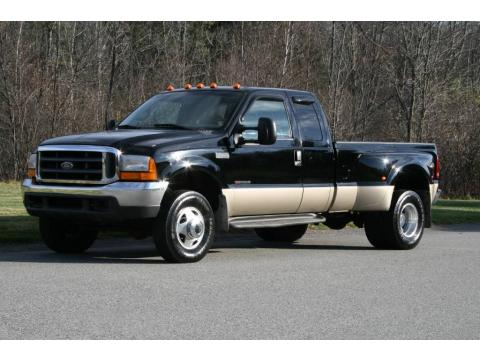 used 2000 ford f350 super duty lariat extended cab 4x4 dually for sale stock a44531. Black Bedroom Furniture Sets. Home Design Ideas