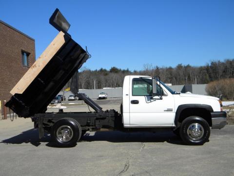 used 2003 chevrolet silverado 3500 regular cab 4x4 chassis dump truck for sale stock 147813. Black Bedroom Furniture Sets. Home Design Ideas