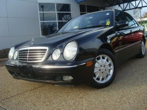 Used 2000 mercedes benz e 320 sedan for sale stock Tysinger motor company